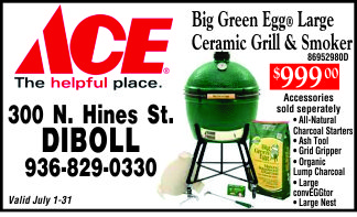 Ace Hardware in Diboll Ad