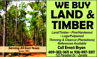 Bryan and Bryan Logging Ad