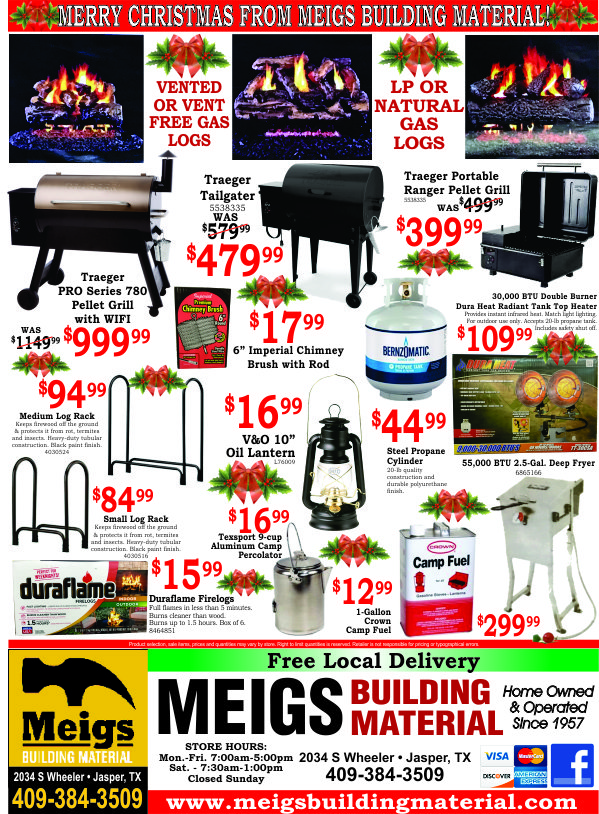 Meigs Building Material Ad