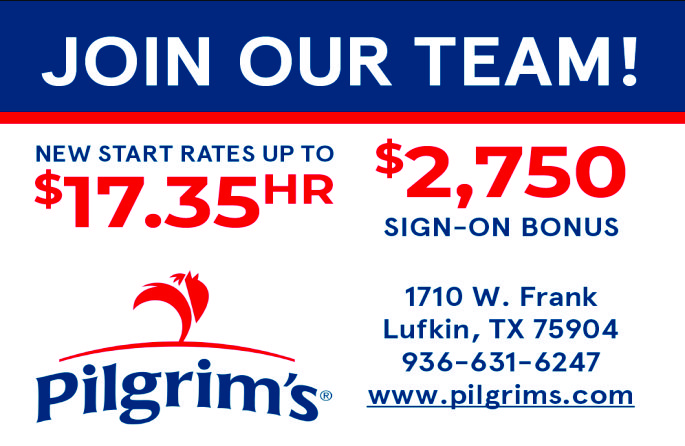 Pilgrims Now Hiring Ad