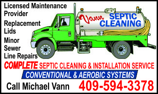 Vann Septic Cleaning Ad